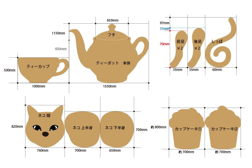 猫とポットの設計図